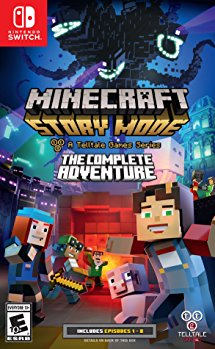 NS: MINECRAFT STORY MODE: THE COMPLETE ADVENTURE (NM) (COMPLETE)